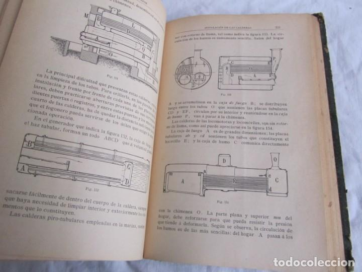 Libros antiguos: Calor, su estudio y aplicaciones industriales, José Mestres Gómez, 1905 - Foto 14 - 245454450