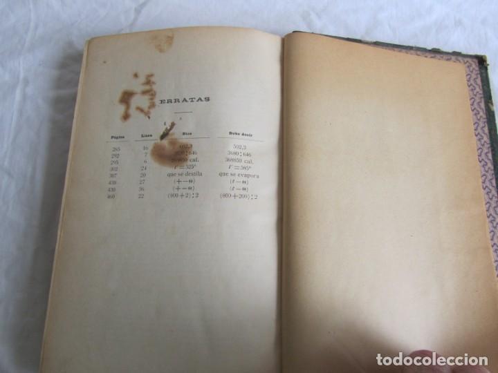 Libros antiguos: Calor, su estudio y aplicaciones industriales, José Mestres Gómez, 1905 - Foto 15 - 245454450