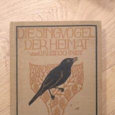 Libros antiguos: PRECIOSO LIBRO ALEMAN 1930 EL ARBOL QUE CANTA EN EL HOGAR . 100 LAMINAS. Lote 245579205