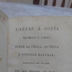 Libros antiguos: PRPM 67 1819 CARTAS A SOFIA EN PROSA Y VERSO, SOBRE LA FISICA, QUIMICA E HISTORIA NATURAL.- TOMO 3. Lote 245742330