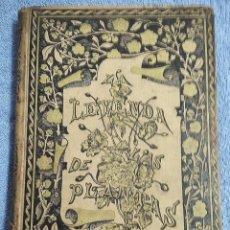 Libros antiguos: LA LEYENDA DE LAS PLANTAS. MITOS, TRADICIONES, CREENCIAS Y TEORÍAS RELATIVOS A LOS VEGETALES. Lote 245785775