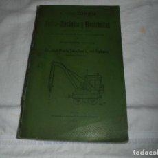 Libros antiguos: LECCIONES-FISICA-MECANICA-ELECTRICIDAD DE MAQUINISTAS NAVALES-GIJON 1.911.JOSE M SANCHEZ L.DEL VALLA. Lote 246135140