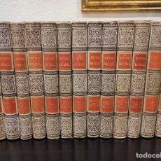 Libros antiguos: HISTORIA NATURAL - EDITORES MONTANER Y SIMÓN - 13 TOMOS, 1891/1895. Lote 246742915