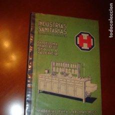 Libros antiguos: MATERIAL PARA LABORATORIOS, ACCESORIOS PARA FARMACIAS, PRODUCTOS QUÍMICOS. AÑO 1933.. Lote 247546270