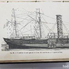Libros antiguos: LA VAPEUR. AMÉDÉE GUILLEMIN. PARÍS, LIBRAIRIE HACHETTE, 1881. ILLUSTRÉ DE 117 VIGNETTES (BONNAFOUX). Lote 252640905