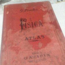 Libros antiguos: ATLAS DE FISICA 1883. Lote 252713030