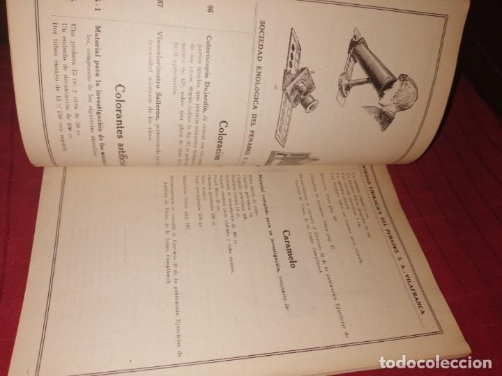 Libros antiguos: SEPSA - APARATOS DE QUÍMICA ENOLÓGICA - VILAFRANCA DEL PENEDÉS, CATÁLOGO ILUSTRADO, LEER DESCRIPCIÓN - Foto 5 - 253353095