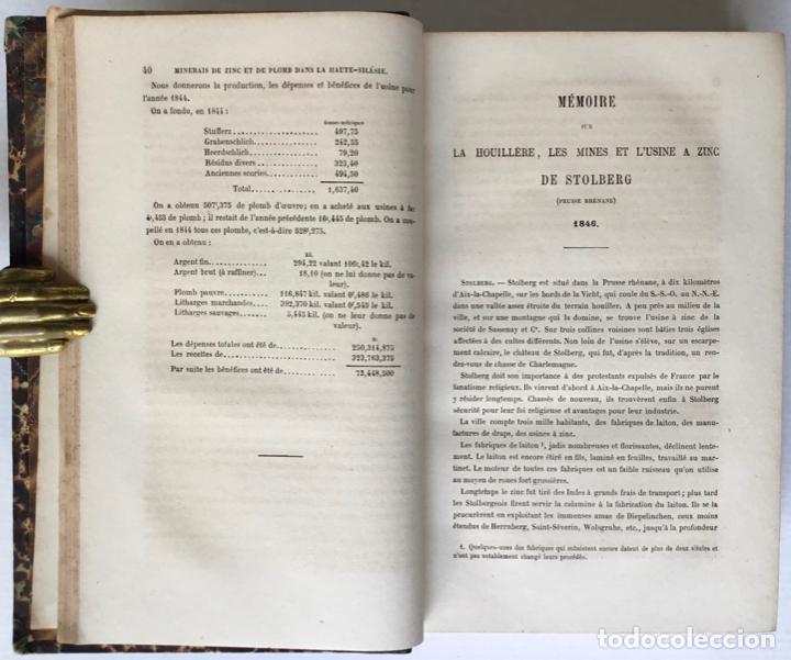 Libros antiguos: PRINCIPES GÉNÉRAUX DU TRAITEMENT DES MINERAIS MÉTALLIQUES. TRAITÉ DE MÉTALLURGIE THÉORIQUE ET PRATI - Foto 12 - 123238100