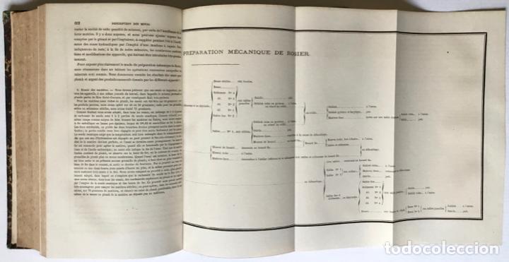 Libros antiguos: PRINCIPES GÉNÉRAUX DU TRAITEMENT DES MINERAIS MÉTALLIQUES. TRAITÉ DE MÉTALLURGIE THÉORIQUE ET PRATI - Foto 15 - 123238100