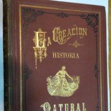 Libros antiguos: DR. JUAN VILANOVA Y PIERA LA CREACIÓN. HISTORIA NATURAL SA3594. Lote 253635105