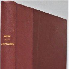 Libros antiguos: 1930.- PROSPECTION GEOPHYSIQUE. TOMO I. ROTHE. Lote 254424670