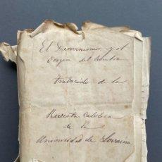Libros antiguos: XIX - TRADUCCION MANUSCRITA AL ESPAÑOL DE EL ORIGEN DEL HOMBRE DE CHARLES DARWIN -. Lote 254757085