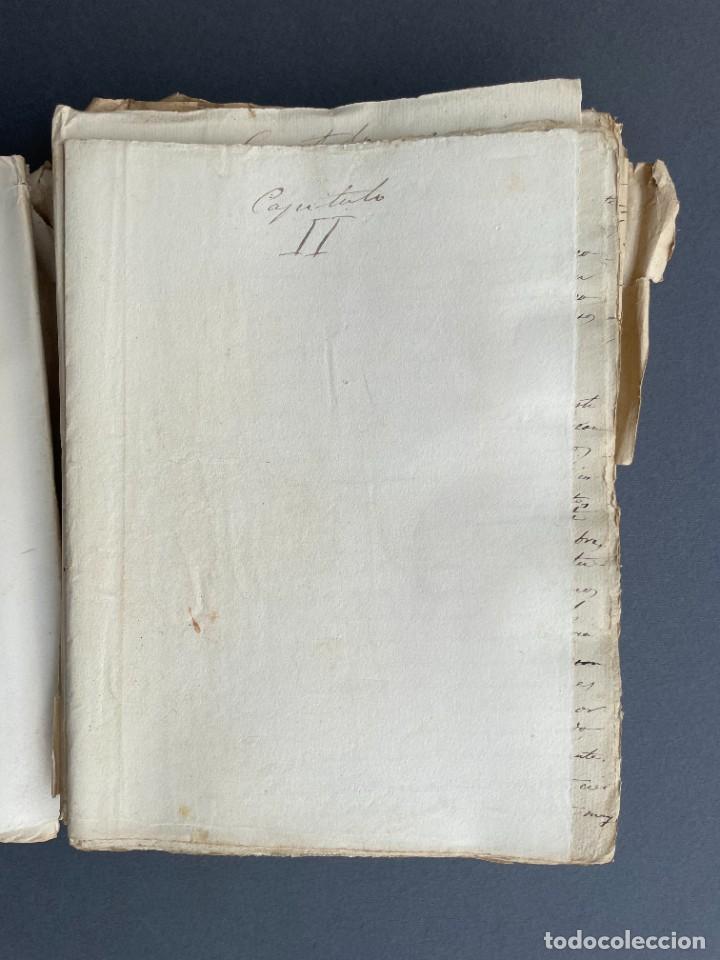 Libros antiguos: XIX - TRADUCCION MANUSCRITA AL ESPAÑOL DE EL ORIGEN DEL HOMBRE DE CHARLES DARWIN - - Foto 11 - 254757085