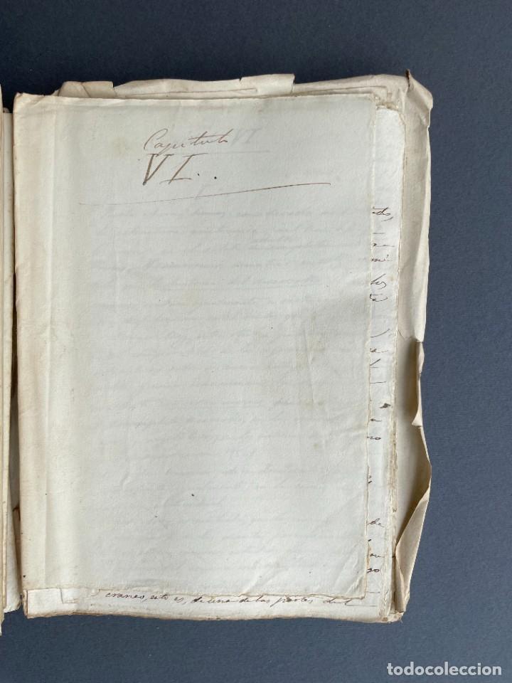Libros antiguos: XIX - TRADUCCION MANUSCRITA AL ESPAÑOL DE EL ORIGEN DEL HOMBRE DE CHARLES DARWIN - - Foto 27 - 254757085