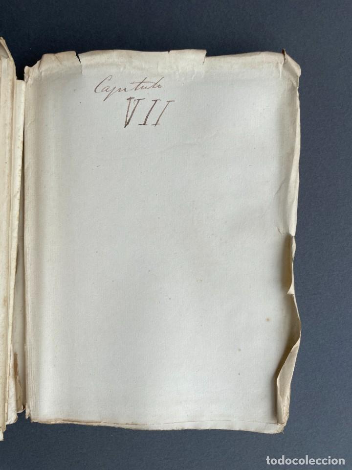 Libros antiguos: XIX - TRADUCCION MANUSCRITA AL ESPAÑOL DE EL ORIGEN DEL HOMBRE DE CHARLES DARWIN - - Foto 30 - 254757085