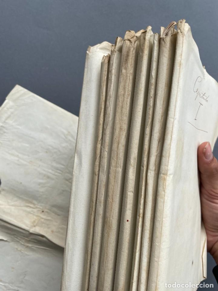 Libros antiguos: XIX - TRADUCCION MANUSCRITA AL ESPAÑOL DE EL ORIGEN DEL HOMBRE DE CHARLES DARWIN - - Foto 36 - 254757085