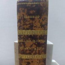 Libros antiguos: TRATADO ANÁLISIS QUÍMICA CUANTITATIVA FRESENIUS. Lote 255983080