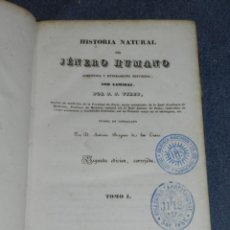 Libros antiguos: (MF) VIREY, JULIER JOSEPH - HISTORIA NATURAL DEL JENERO HUMANO, BARCELONA 1840, 2 TOMOS, COMPLETO. Lote 257478420