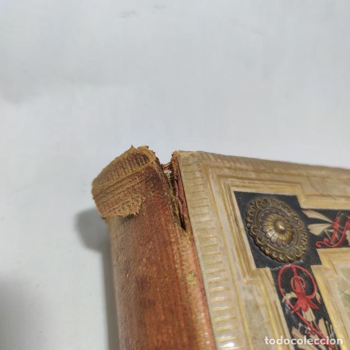 Libros antiguos: Preciosa obra La vida de las flores. Alfonso Karr y Taxile Delord. 2 tomos.Cientos litografías.1878 - Foto 3 - 257603235
