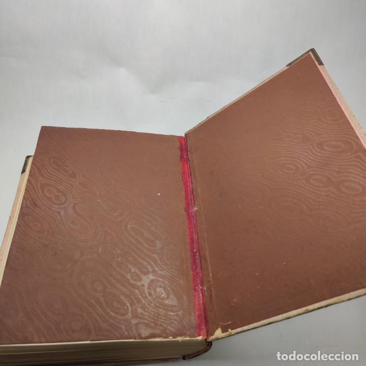 Libros antiguos: Preciosa obra La vida de las flores. Alfonso Karr y Taxile Delord. 2 tomos.Cientos litografías.1878 - Foto 19 - 257603235