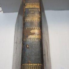 Libros antiguos: LIBRO ELEMENTOS DE FÍSICA EXPERIMENTAL Y DE METEOROLOGÍA M. POUILLET 1841. Lote 257925415