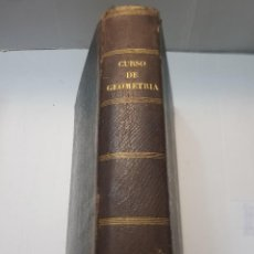 Libros antiguos: LIBRO CURSO GEOMETRÍA ELEMENTAL POR A.J.H.VINCENT 1862. Lote 257927900