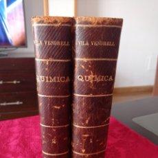 Libros antiguos: LIBROS QUÍMICA GENERAL Y DESCRIPTIVA. Lote 260343395