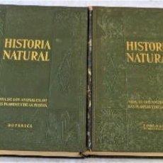 Libros antiguos: HISTORIA NATURAL - INSTITUTO GALLACH - COMPLETA 4 TOMOS ZOOLOGÍA, BOTÁNICA Y GEOLOGÍA - AÑO. Lote 260582805