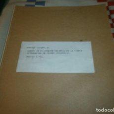 Libros antiguos: SONDEO EN EL EXTREMO ORIENTAL DE LA CUENCA CARBONIFERADE GUARDO PALENCIA 1912 10 PG. Y DESPLEGABLE. Lote 261846705