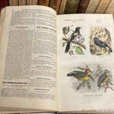 Libros antiguos: AÑO 1854 - BUFFON LOS TRES REINOS DE LA NATURALEZA TOMOIII ZOLOGÍA AVES Y PÁJAROS - GRABADOS. Lote 262044755