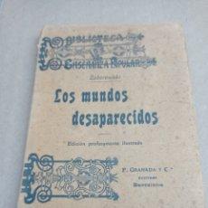 Libros antiguos: LOS MUNDOS DESAPARECIDOS, ZABOROWSKI. Lote 262426350