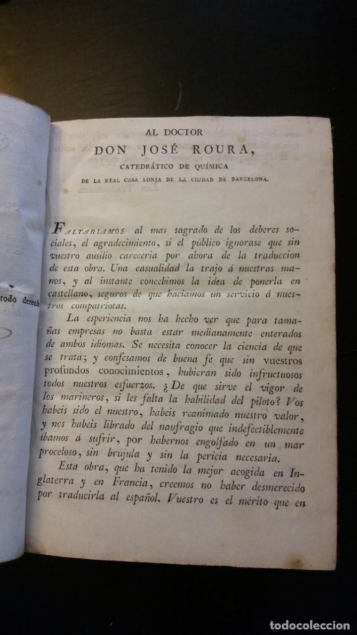Libros antiguos: 1827 - HERPIN - Recreaciones químicas, ó Colección de esperiencias curiosas e instructivas. 2 tomos - Foto 4 - 262459380