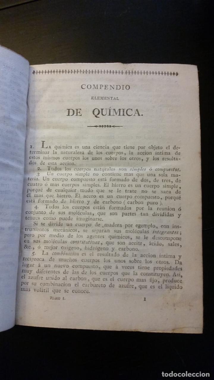 Libros antiguos: 1827 - HERPIN - Recreaciones químicas, ó Colección de esperiencias curiosas e instructivas. 2 tomos - Foto 5 - 262459380