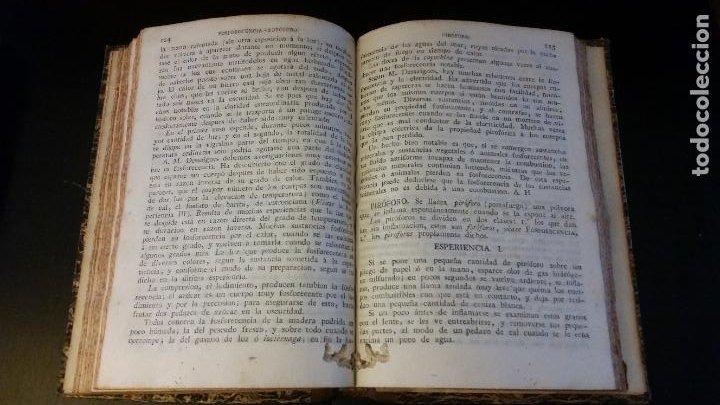 Libros antiguos: 1827 - HERPIN - Recreaciones químicas, ó Colección de esperiencias curiosas e instructivas. 2 tomos - Foto 12 - 262459380