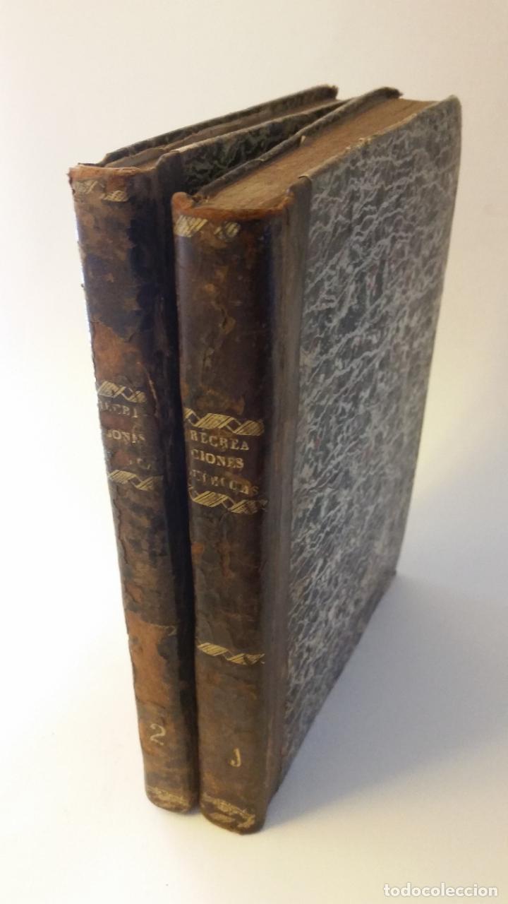 1827 - HERPIN - RECREACIONES QUÍMICAS, Ó COLECCIÓN DE ESPERIENCIAS CURIOSAS E INSTRUCTIVAS. 2 TOMOS (Libros Antiguos, Raros y Curiosos - Ciencias, Manuales y Oficios - Física, Química y Matemáticas)