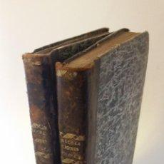 Libros antiguos: 1827 - HERPIN - RECREACIONES QUÍMICAS, Ó COLECCIÓN DE ESPERIENCIAS CURIOSAS E INSTRUCTIVAS. 2 TOMOS. Lote 262459380
