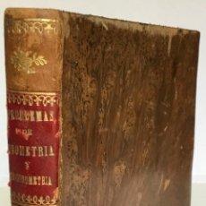 Libros antiguos: APUNTES DE GEOMETRIA Y TRIGONOMETRIA. - DUIXANS Y PEDRAGOSA, JOAQUIN. [MANUSCRITO; TUIXANS I.... Lote 263248905