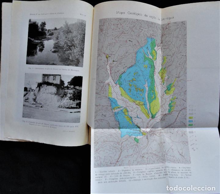 Libros antiguos: BOLETIM SOCIEDADE PORTUGUESA CIÊNCIAS NATURAIS - Lisboa 1961 - 1962. Mapa Geológico Mortágua - Foto 4 - 265804289