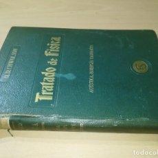 Libros antiguos: TRATADO DE FISICA / O D CHWOLSON III ACUSTICA ENERGIA RADIANTE / FELIU Y SUSANNA 1917 / AH53. Lote 266960974