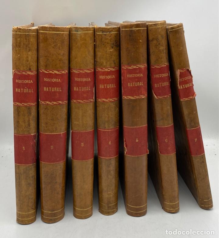 LA HISTORIA NATURAL. DR. A. E. BREHM. DEL TOMO 1 AL 7. EDITORES MONTANER Y SIMON.BARCELONA,1880-81. (Libros Antiguos, Raros y Curiosos - Ciencias, Manuales y Oficios - Biología y Botánica)