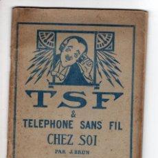 Libros antiguos: EL TELÉFONO SIN HILOS. Lote 269098343