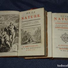 Libros antiguos: (MF) SUID DE ARISTOT - DE LA NATURE , 2 VOLS COMPLETO , AMSTERDAM M VAN HARREVELT MDCCLXI. Lote 269380573
