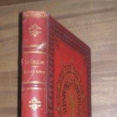 Libros antiguos: E.L. TASCHENBERG: INSECTOS / OSCAR SCHMIDT: CRUSTACEOS, ANELIDOS, MOLUSCOS, POLIPOS... 1881.. Lote 269967913