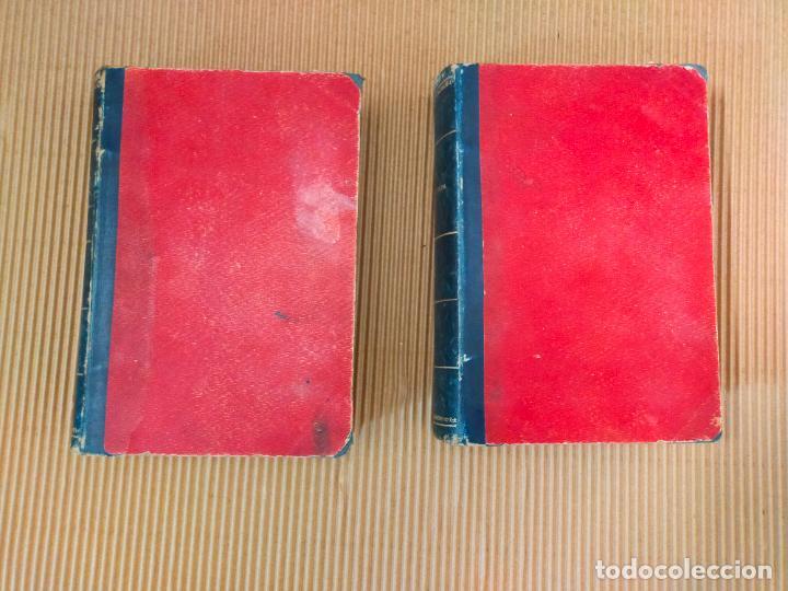 Libros antiguos: LA ARAÑA NEGRA de V. BLASCO IBAÑEZ - 2 Tomos - año 1892 - Foto 2 - 271153743