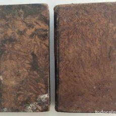 Libros antiguos: COMPENDIO DE MATEMÁTICAS PURAS Y MISTAS - DOS TOMOS COMPLETA - JOSÉ MARÍA VALLEJO - AÑOS 1840 Y 1827. Lote 274577433