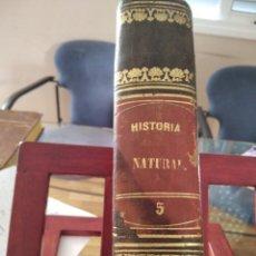 Libros antiguos: LOS TRES REINOS DE LA NATURALEZA-BUFFON-TOMO V-ZOOLOGIA PECES-1855. Lote 274818743