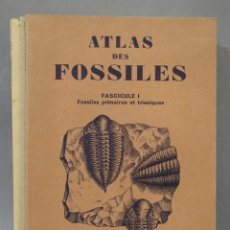 Libros antiguos: ATLAS DES FOSSILES. 3 TOMOS. Lote 275680253