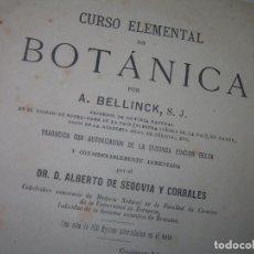 Libros antiguos: A.BELLINCK,1.883- BOTANICA- PAGINAS...1076...CON GRABADOS....HAY MUCHAS FOTOS.. Lote 275754688
