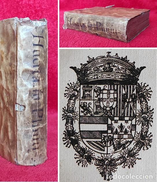 AÑO 1602 - PLINIO - EN ESPAÑOL - HISTORIA NATURAL DE LOS ANIMALES Y EL HOMBRE - MONSTRUOS - ALCALÁ (Libros Antiguos, Raros y Curiosos - Ciencias, Manuales y Oficios - Biología y Botánica)