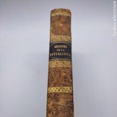 Libros antiguos: LECCIONES DE NATURALEZA AÑO 1841 BARCELONA. Lote 276695928